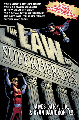 The Law of Superheroes Cover