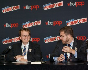 James and Ryan give a panel discussion on The Law of Superheroes